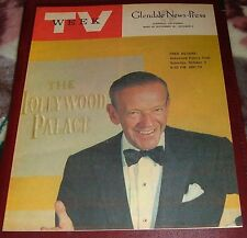 1965 SUPER TV WEEK GUIDE~FRED ASTAIRE~ADDAM'S FAMILY~BIG VALLEY DEBUT LEE MAJORS