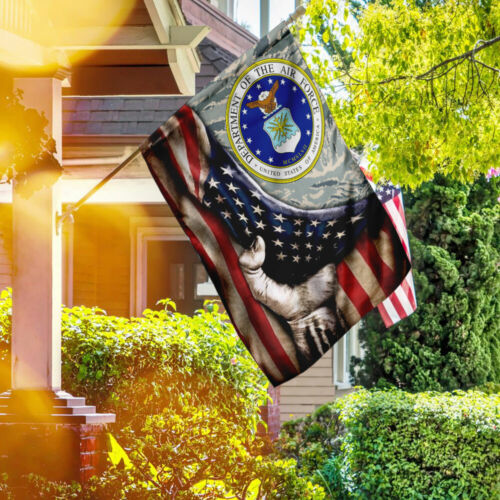 United States Air Force American Veteran US Flag TRN297F House Flag Garden Flag
