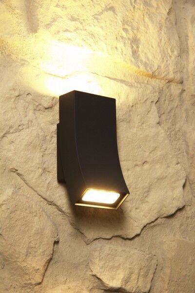 Design muro esterno lampada Led Candelabro Aussenlampe Lampada Parete Muro Lampada Nuova