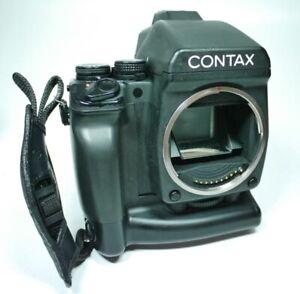Contax-645-MF-1-Prismensucher-MP-1-Batterie-Griff-An-Verkauf-ff-shop24
