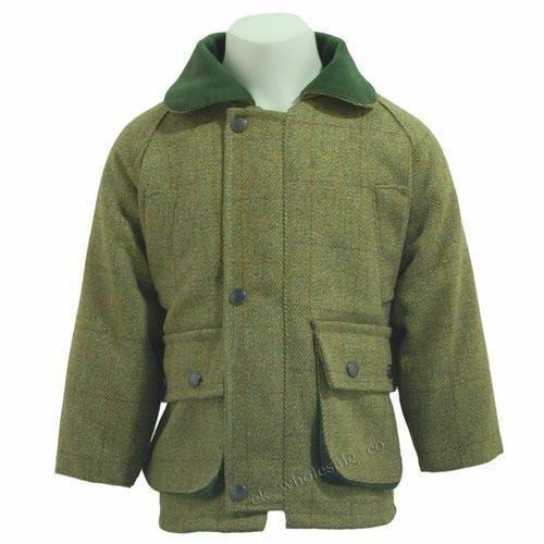 Waterproof Shooting Hunting Coats Jackets UK Kids Tweed Jacket
