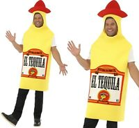 Adult Mexican Tequila Bottle Fancy Dress Costume 38-44 By Smiffys