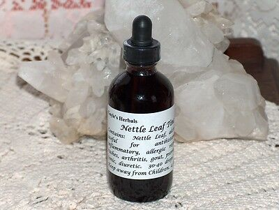 HERBAL NETTLE LEAF TINCTURE EXTRACT 4FLOZ ALLERGIES, IMMUNE FUNCTION