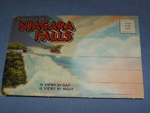 VINTAGE-SOUVENIR-OF-NIAGARA-FALLS-PICTURES-POSTCARD