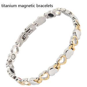 Magnet-Magnet-Germanium-Power-Armband-Gesundheit-4in1-Bio-Armband-Lady-039-s