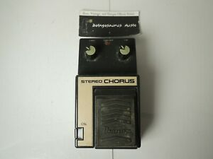 Vintage Ibanez CSL Stereo Chorus Effects Pedal Made in Japan Free USA Shipping
