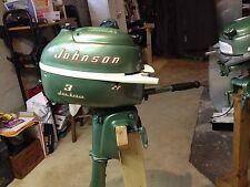 johnson outboard motor JW 11 1955 3 HP