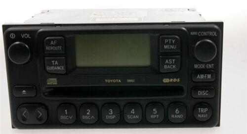 Toyota CD-radio 58803 radio del coche Avensis Verso Celica previa mr2 rav4 comerciante