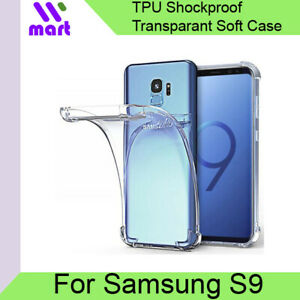 Samsung-Galaxy-S9-Transparent-Shockproof-Soft-Case-with-Airbags