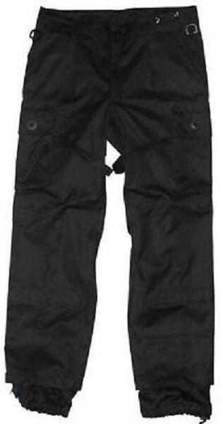 Leo Köhler Ksk Combat Tactique Pantalon Pantalon de Combat nero nero S