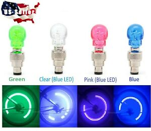 SKULL-HEAD-LED-Valve-Stem-CAP-for-Bike-Bicycle-Car-Motorcycle-Wheel-Tire-Light