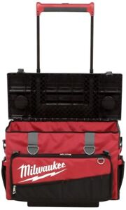 Details About Milwaukee Hardtop Rolling Tool Bag 24 In Storage Telescoping Handle Wheels