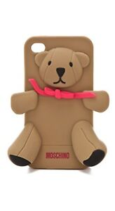 outlet store 8ac3d 535ba Details about Moschino Gennarino Bear iPhone 4/4S Case (Original Box  Included)