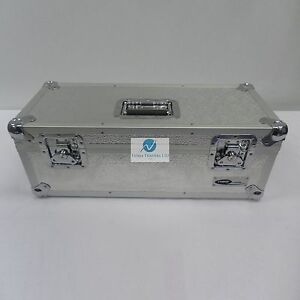 1-X-NEO-Aluminum-Silver-Vinyl-7-034-Storage-for-300-Records-Singles-DJ-Carry-Case