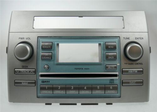 TOYOTA Corolla Verso R1 Radio Frontblende Radioblende Radiofront Blende fascia..