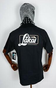 Lakai Skate Skateboard Schuhe Shoes Footwear T-Shirt Tee Transport Black in  M