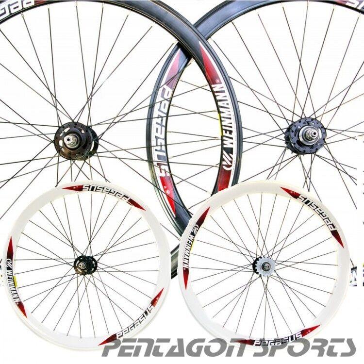 Llantas de bicicleta 700c, de aluminio, velocidad de pedido, contra Weinmann Pegasus 28.