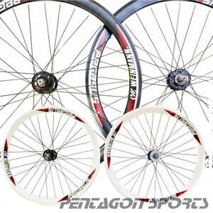 Fahrrad-Felge-700c-Aluminium-Fixie-Singlespeed-Laufradsatz-Weinmann-Pegasus-28-034