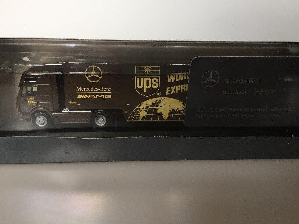 Herpa 1 87 H0 Mercedes UPS Team AMG Mercedes