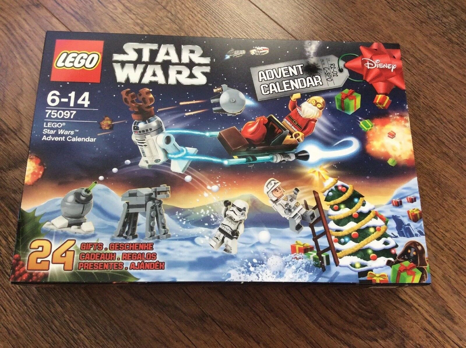 LEGO Star Wars Advent Calendar 75097 - Brand New and Sealed