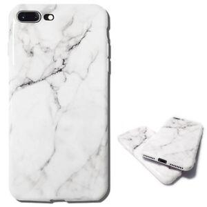 Coque Silicone iPhone 11 Pro XR X XS MAX 6 S 7 Plus 8 AntiChoc Effet Marbre