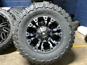 Fuel D569 Vapor 18x9 5x139.7//5x150 20mm Black//Machined//Tint Wheel Rim