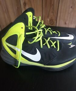 competitive price 4c405 4bc1f Image is loading Nike-Prime-Hype-DF-Mens-12-Black-Yellow-