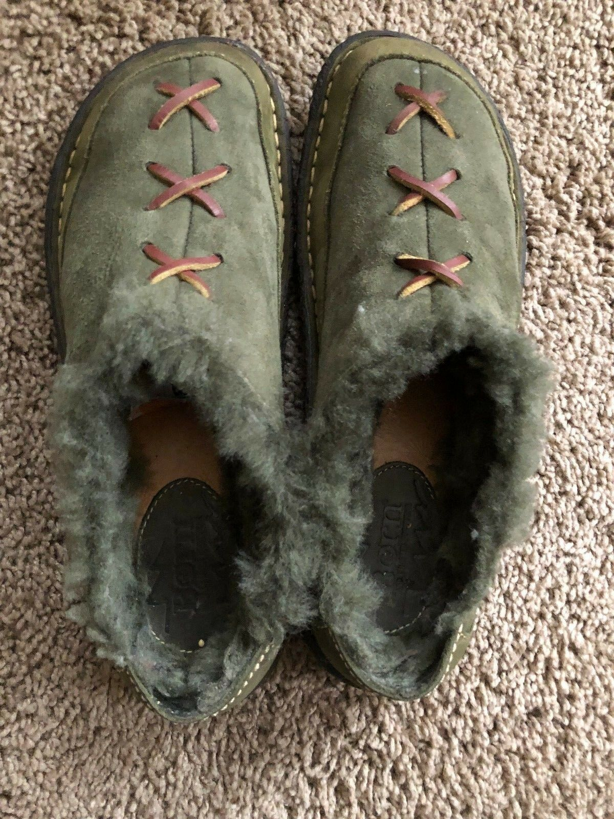 Born Men's Green Slipper shoes- Size 8.5