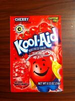 Kool-Aid Cherry Unsweetened Soft Drink Mix, 0.13-Ounce Envelopes (Pack of 96) Food and Drink