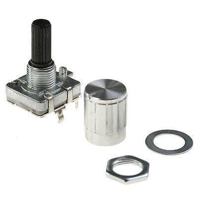 12mm Rotary Encoder Switch Flat-Top Knob NEW
