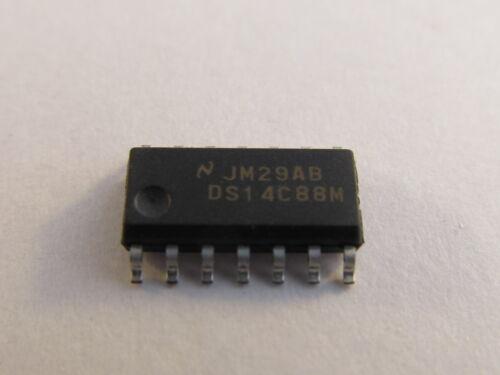 5 unidades-ds14c88m National semi quadcmos line driver so14-ae12//7073