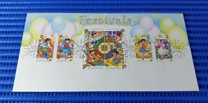 1998-Singapore-First-Day-Cover-Festivals-Commemorative-Stamp-Issue