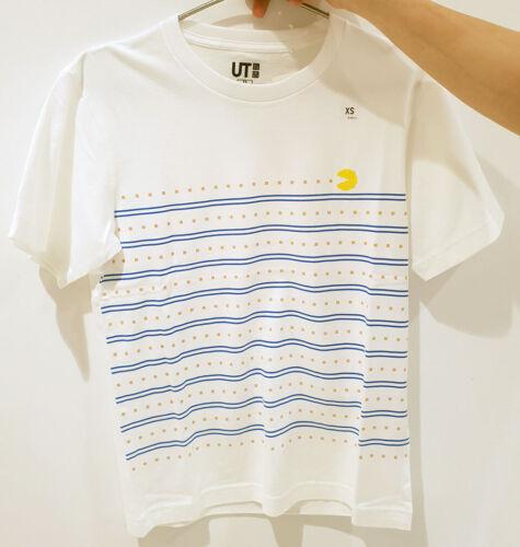 UNIQLO Hommes Femmes Le Jeu par Namco Museum pac-man manches courtes T-shirt graphique