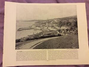 Antique-Book-Print-St-Mawes-OR-Holyhead-UK-c-1895