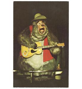Disneyland-Vintage-Unused-Postcard-Country-Bear-Jamboree-Big-Al-circa-1970s