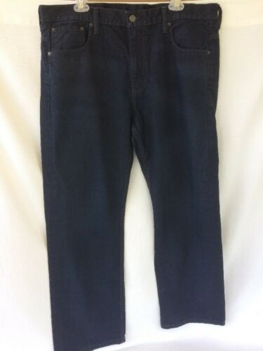 Fit Longueur 36x30 Délavé Réel Levis 38x31 Jeans Loose Délavés Hommes Étiquette 569 Bleu znAxqvEpA