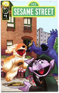 SESAME-STREET-1-VF-Big-Bird-Elmo-Oscar-Cookie-Monster-2013-Ape-Ent