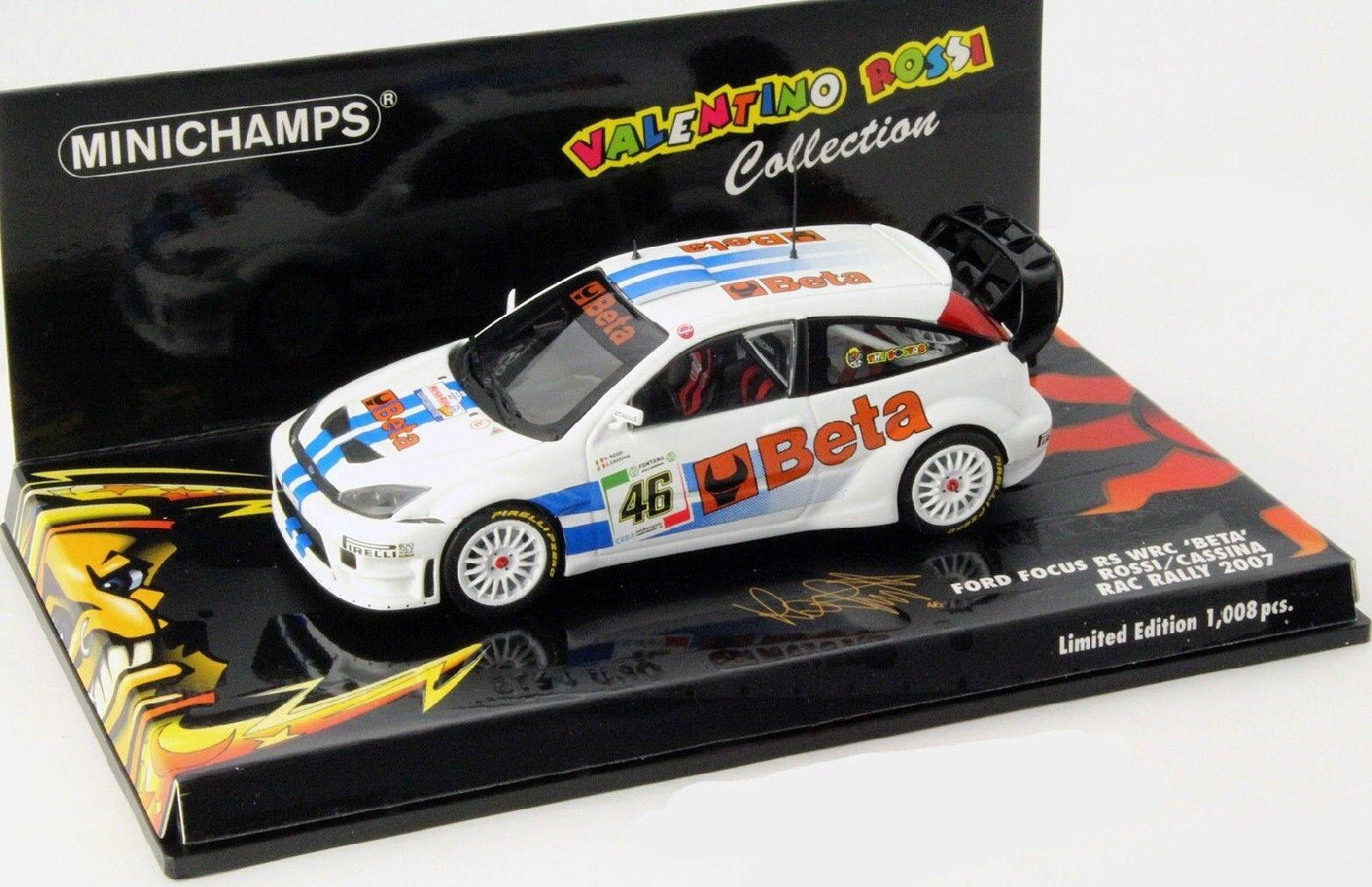 MNC400078446 - Voiture de rallye FORD Focus RS WRC Beta Rac Rally de 2007 équipa