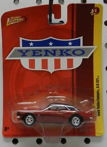 Johnny Lightning COPO Yenko Chevy Camaro RS SS 1968 Red JLMC023 B 1//64