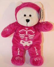 Starbucks Bearista Bear Plush 35th Ed Pink Skeleton 2004 TAGS, NWT Perfect