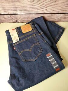 Nuevo Con Etiquetas Levi S 517 Azul Oscuro Boot Cut Jeans Pantalones De Mezclilla Para Hombres Talla 40 X 34 Ebay