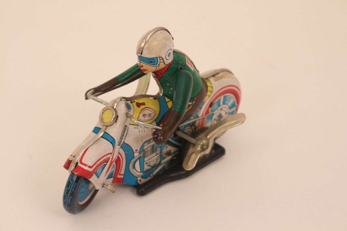MS - 702 Motorcycle Tin Toy Toy Drive Movement Motorcycle Riders