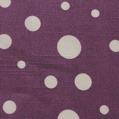 West Indies BTY Jennifer Paganelli FreeSpirit Purple Geometric Polka Dot White