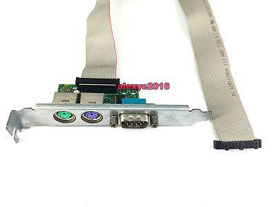 Dell High Profile PS2 RS232 Serial COM Port Card Y9003 F9102 UL94V F743C 0F6VNT