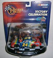 Jeff Gordon 24 Nascar Winner's Circle Victory Celebration 1997 Daytona 500 Win