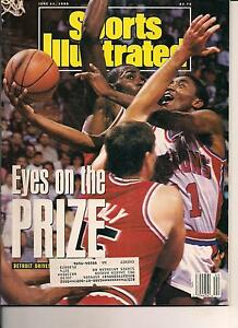 March 1992 Isiah Thomas Detroit Pistons Sports Illustrated For Kids
