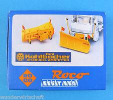 Roco H0 1775 SCHNEEPFLUG 2 Stück Kahlbacher Bausatz OVP HO 1:87 snowplow