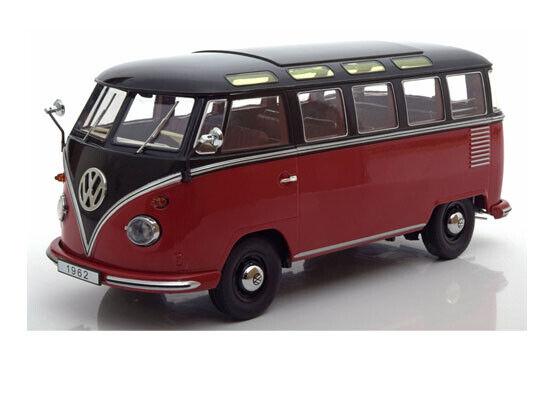VW t1 sambabus rosso nero KK-scale limitado a 1500 unidades 1 18