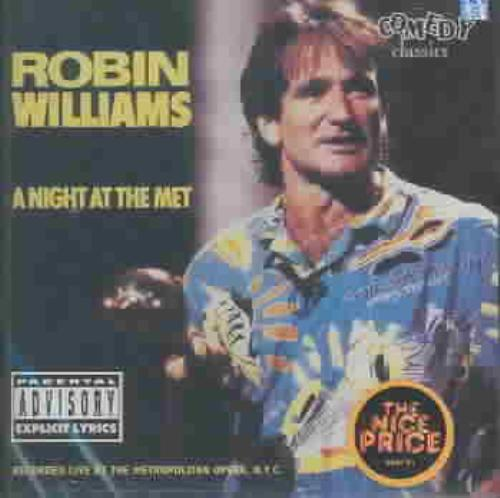 ROBIN WILLIAMS (COMEDY) - A NIGHT AT THE MET [PA] NEW CD