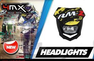 Polisport-Halo-Headlight-Logo-Decal-Grapic-fits-Suzuki-RM-Z250-K4-K5-K6-04-06